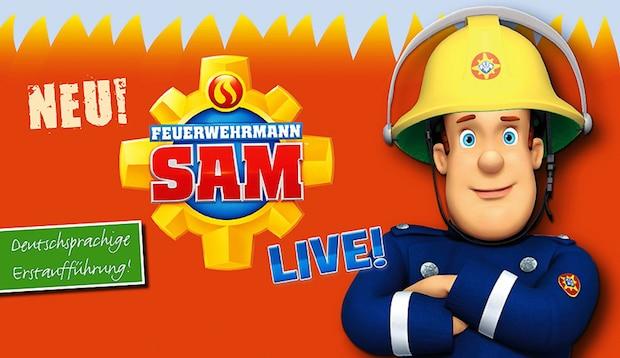 Photo of Feuerwehrmann SAM LIVE in der Siegerlandhalle am 26. April 2017