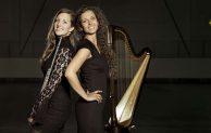 """Menden – """"Queens Duo"""" zu Gast im Westflügel: Besonderes Konzert mit Querflöte und Harfe"""