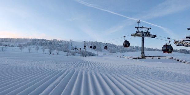 Erster richtiger Wintereinbruch der Saison mit Neuschnee und Kälte