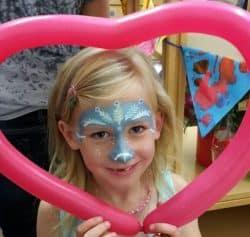 <b>Kinderschminken im Attendorner Kinderclub</b>