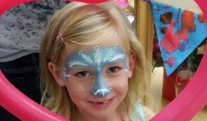 Kinderschminken im Attendorner Kinderclub