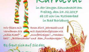 Die Paradiesische Ladies-Night im Rothaarbad Bad Berleburg