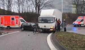Hagen – Unfall mit LKW – Person verletzt