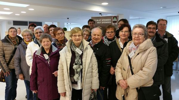 Photo of Hagen: DRK-Ehrenamtliche zu Gast im Blutspendezentrum