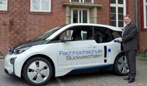 Iserlohn: Fachhochschule Südwestfalen nutzt Elektroauto für Dienstreisen