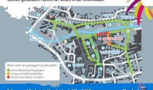 Meschede: Info-Karte bietet Überblick über Autofahren und Parken in Innenstadt