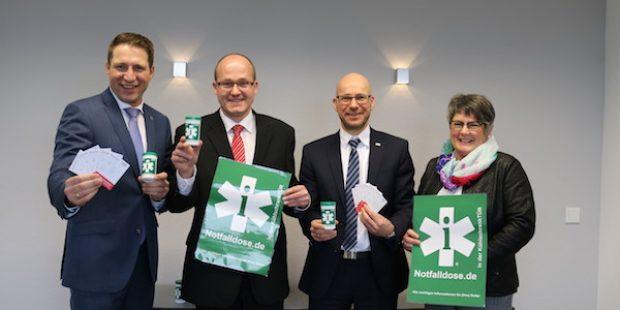 Notfallbox und Notfalldose: Gemeinde Neunkirchen ganz vorn in Sachen Gesundheit