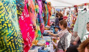 Deutsch-holländischer Stoffmarkt am 30. April in Soest