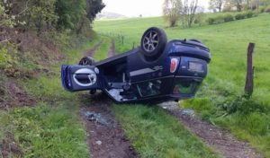 Hagen: Mini überschlägt sich – Frau verletzt