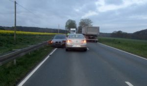 Werl: Polizei sucht flüchtigen Autofahrer