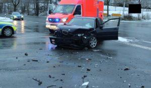 Schmallenberg: Verkehrsunfall mit zwei Schwerverletzten