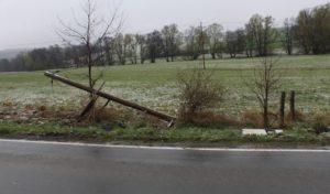 Schmallenberg: Polizei sucht Unfallverursacher