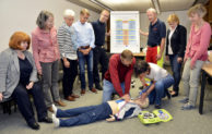 Kreis Soest – Amtsärzte trainieren Reanimation
