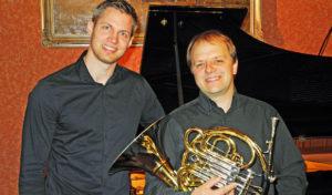 """5. Iserlohner Kammerkonzert: """"Abendlied"""" mit Adrian Ebmeyer (Horn) und Andreas Hering (Klavier)"""