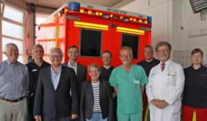Kreis stationiert Rettungswagen am Geseker Heilig-Geist-Hospital