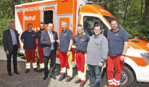 Neuer RTW für Rettungswache Meinerzhagen