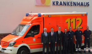 Kreis Soest hat am Marienkrankenhaus Rettungswagen stationiert