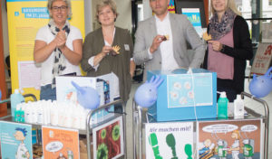 Siegen: Von Station zu Station für saubere Hände