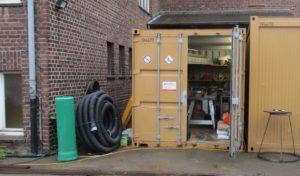 Hagen: Containeraufbrüche in der Sedanstraße
