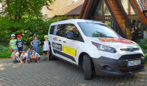Lüdenscheid: Neues Kinder- und Jugendmobil im Einsatz