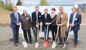 Bauarbeiten für Bildungsinstitut für Gesundheitsberufe in Südwestfalen (BiGS) haben begonnen