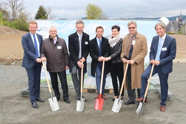 Photo of Bauarbeiten für Bildungsinstitut für Gesundheitsberufe in Südwestfalen (BiGS) haben begonnen