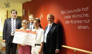 Lüdenscheid: Wir sagen Danke – 3000 Euro für den Förderverein der Palliativstation