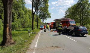 Brilon – Verkehrsunfall auf der B 480