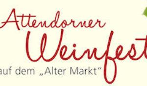 """Viertes Attendorner Weinfest auf dem """"Alten Markt"""""""