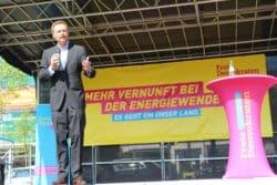 Christian Lindner in Olpe - mit großem Interesse.