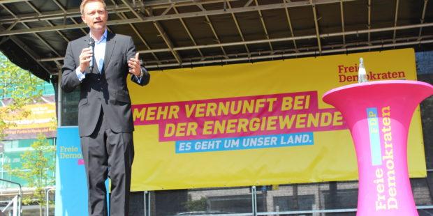 Christian Lindner in Olpe – Gegenwind für die Energiewende!