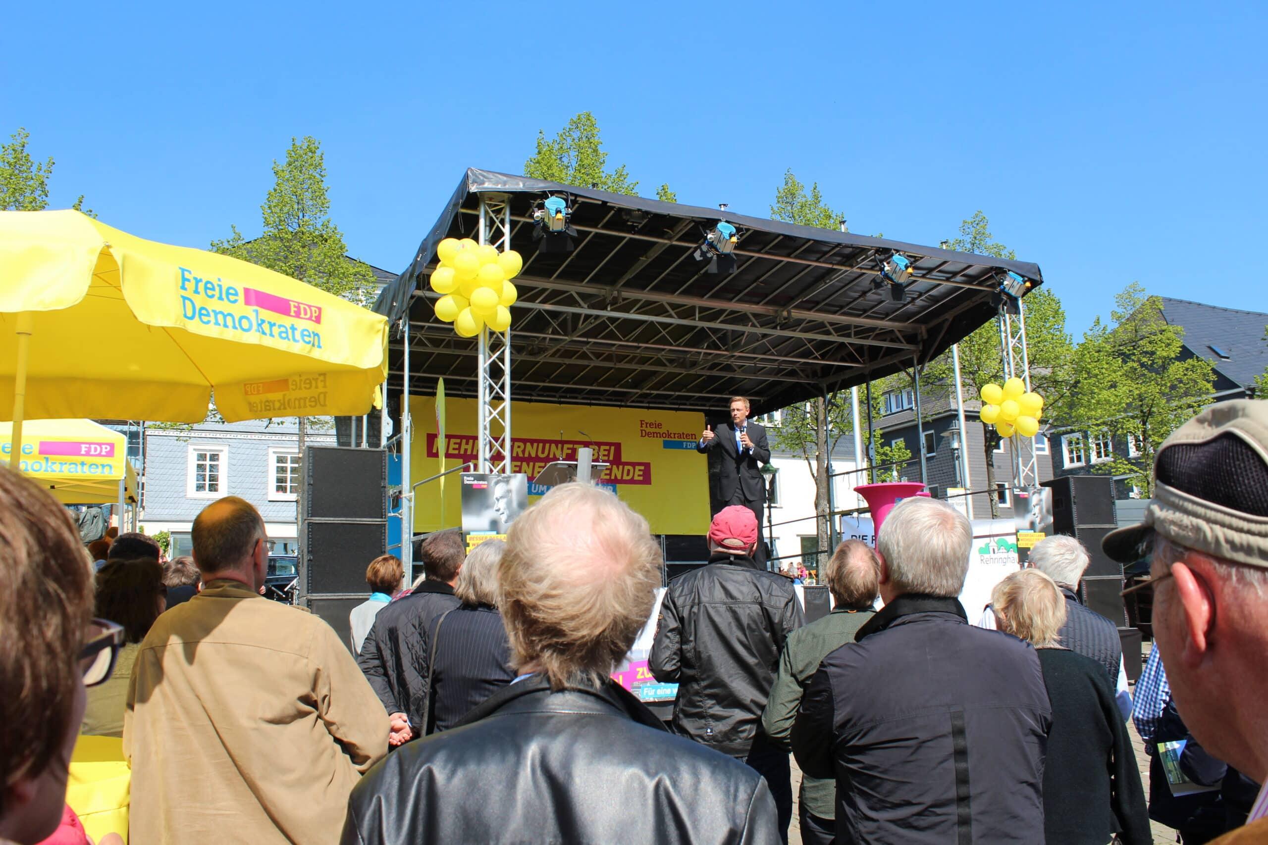 Lindner sieht in NRW-Ergebnis Signal für Comeback der FDP