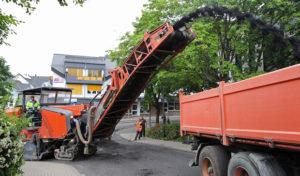 Fahrbahnsanierung im Ortszentrum Wilnsdorf