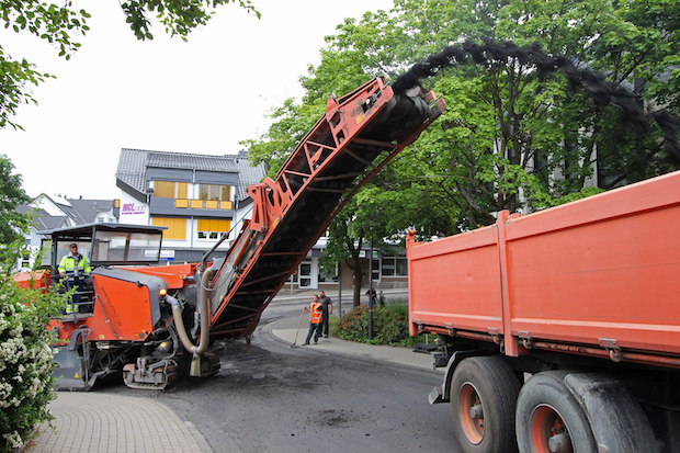 Photo of Fahrbahnsanierung im Ortszentrum Wilnsdorf