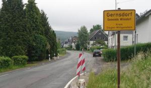 Wilnsdorf – Start für den 2. Bauabschnitt an der L 722 Marburger Straße in Gernsdorf
