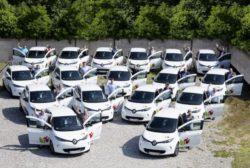 <b>17 Renault Zoe elektrisieren den Fuhrpark des Erzbistums Freiburg</b>