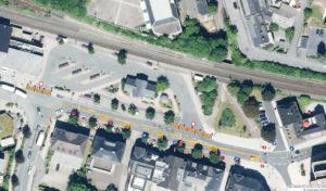 Meschede – Arbeiten am ZOB: Le-Puy-Straße wird zur Einbahnstraße