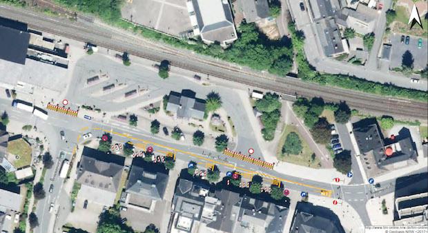 Photo of Meschede – Arbeiten am ZOB: Le-Puy-Straße wird zur Einbahnstraße
