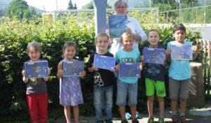 Eigenes Bilderbuch zum Thema Frieden im Städtischen Familienzentrum Olsberg