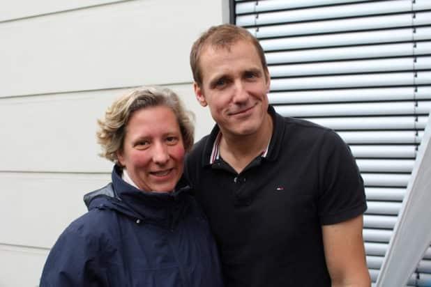 eBody Inhaber und Geschäftsführer A.Schmidlin mit Ehefrau Julia