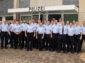 Die Polizei im Hochsauerlandkreis begrüßt die neuen Auszubildenden in der Behörde