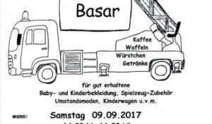 Kinderfeuerwehr Hilchenbach lädt zu einem Second-Hand-BASAR ein