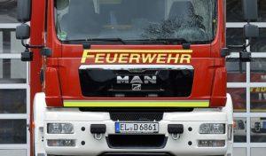 Siegen – Brand in Mehrfamilienhaus