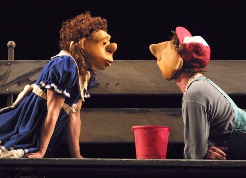 Photo of Habbe und Meik – Maskentheater ohne Worte – ein Vergnügen für die ganze Familie