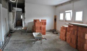 Bestwig – Turnhalle Nuttlar: Sanierung der Nebenräume hat begonnen