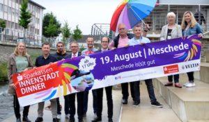 Meschede – Genuss pur an festlicher Innenstadt-Tafel