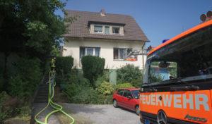 Menden: Einfamilienhaus nach Küchenbrand unbewohnbar