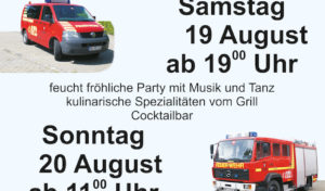 Menden – Einladung zum Feuerwehrfest Halingen