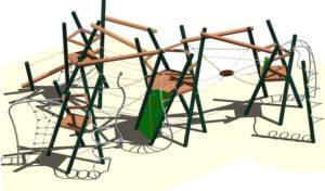 Geseke – Neues Spielgerät für den Park Thoholte