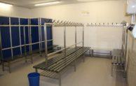 Geseke – Herrenumkleide im Lehrschwimmbecken Störmede saniert